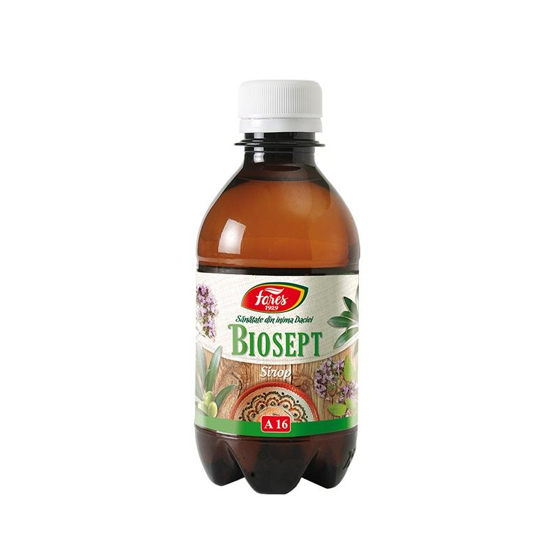 Sirop Biosept, 250 ml, Fares imagine produs 2021