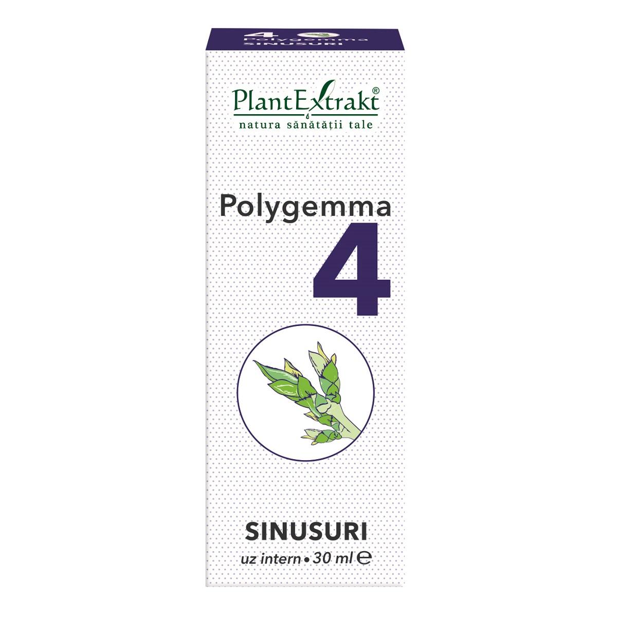 Polygemma 4 sinusuri, 30ml, Plant Extrakt drmax.ro