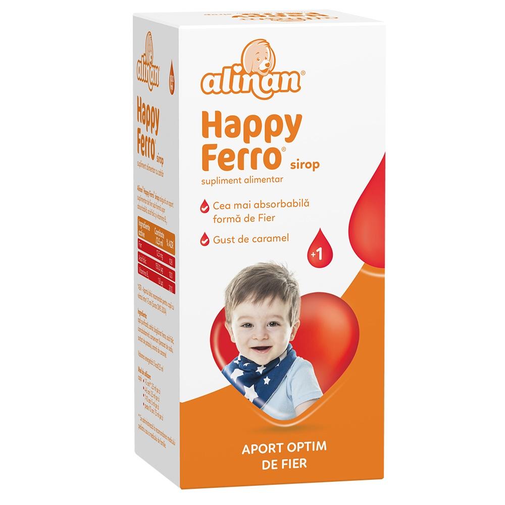Sirop Happy Ferro Alinan, 100 ml, Fiterman drmax.ro