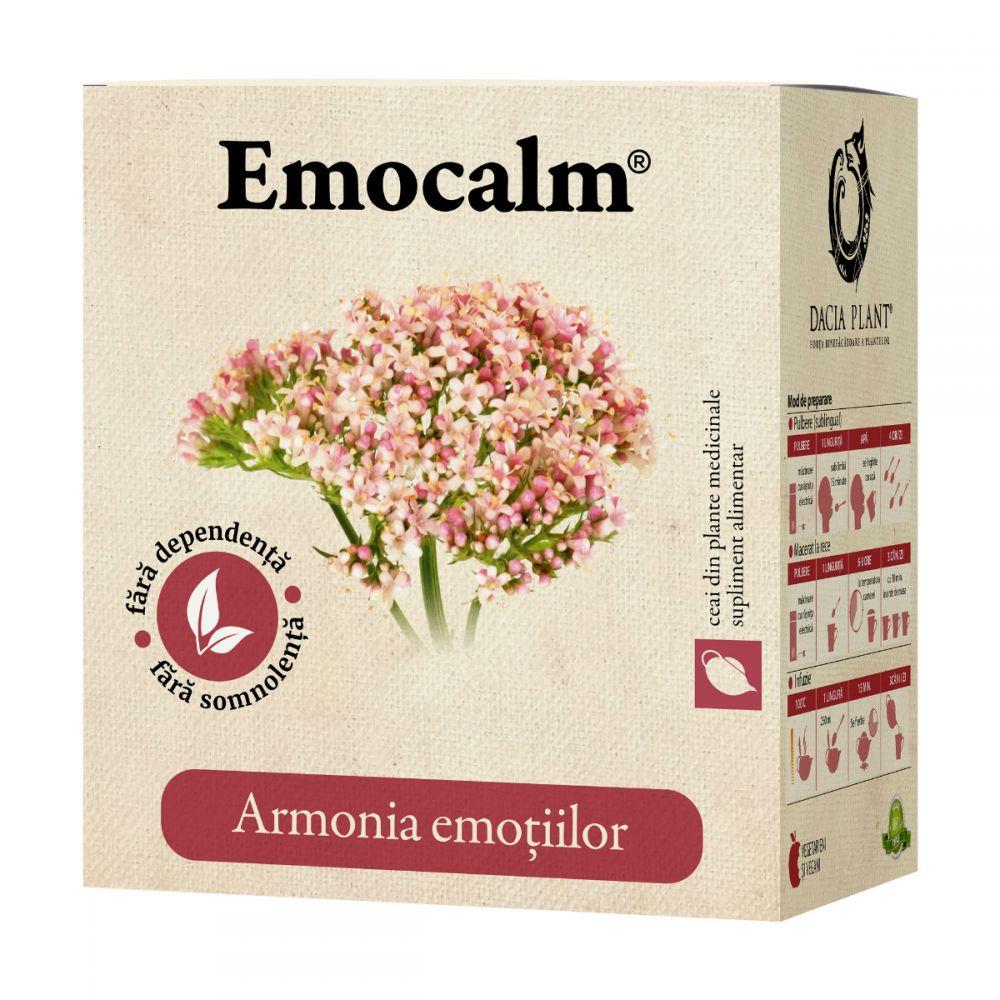 Ceai Emocalm, 50g, Dacia Plant drmax.ro
