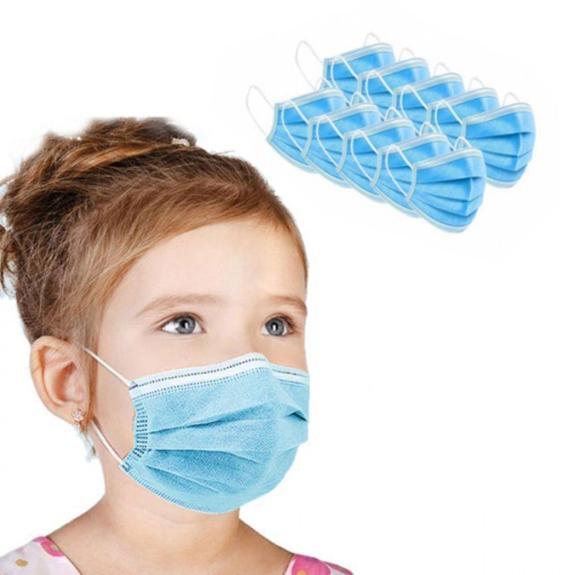 Masti chirurgicale cu 3 straturi pentru copii, set 10 bucati, Aveuro International drmax poza