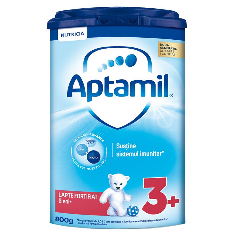 Lapte praf Aptamil 3, 800g, Nutricia