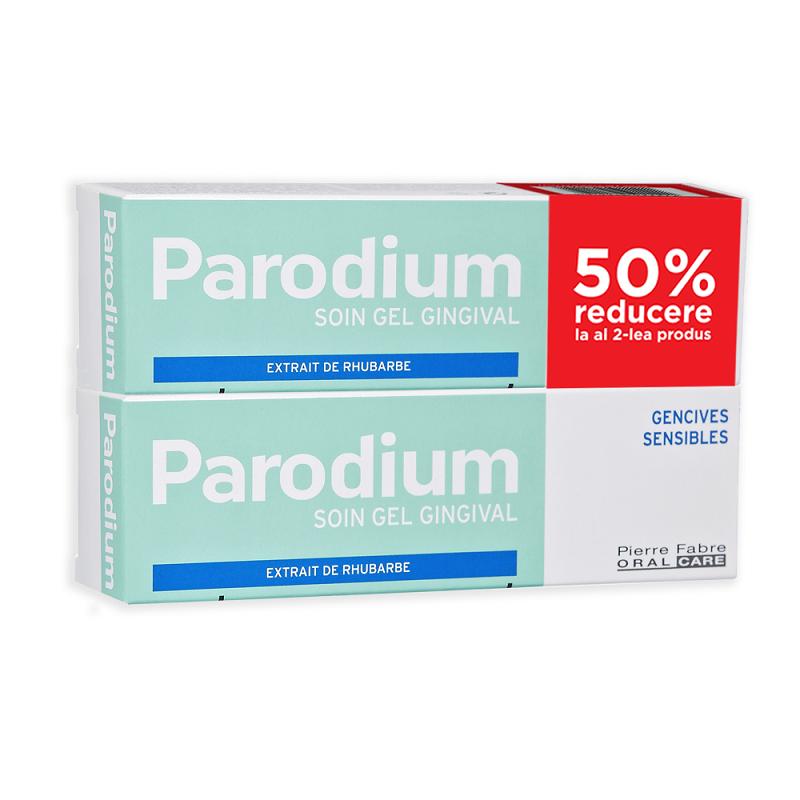 Pachet Parodium gel gingival 50ml 1 + 50% reducere la al doilea, Pierre Fabre la preț mic imagine
