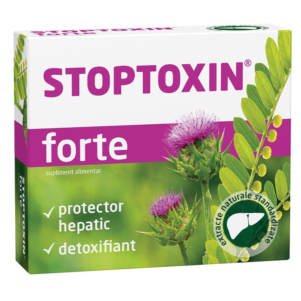 Stoptoxin Forte, 30 capsule, Fiterman imagine produs 2021