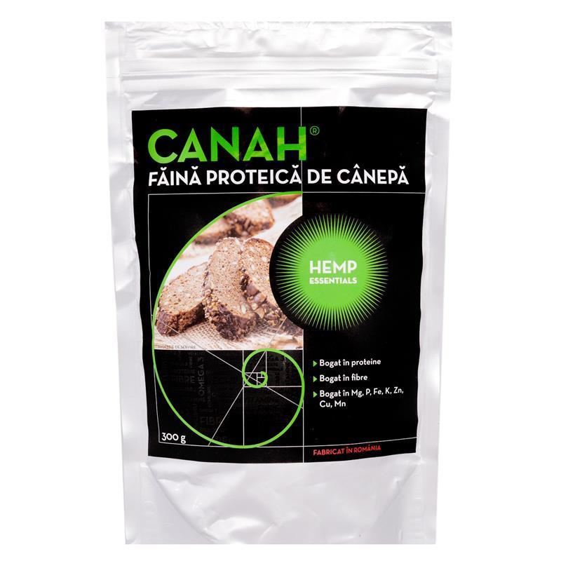 Faina proteica de canepa, 300g, Canah drmax.ro