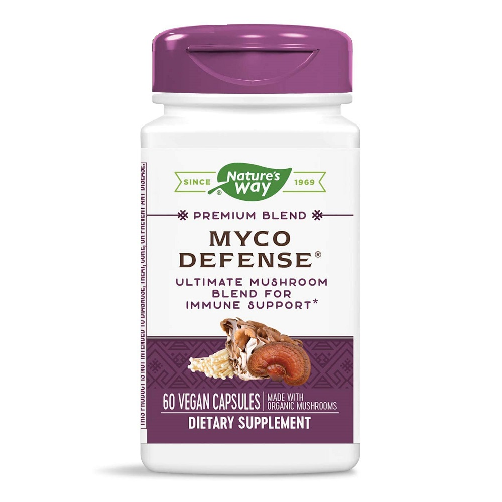Myco Defense Nature's Way, 60 capsule, Secom imagine produs 2021