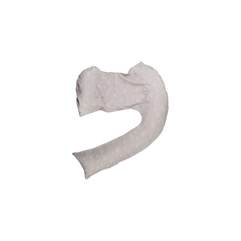 Perna pentru alaptare Grey White DreamGenii 2 in 1, 1 bucata, Dr. Brown's drmax.ro