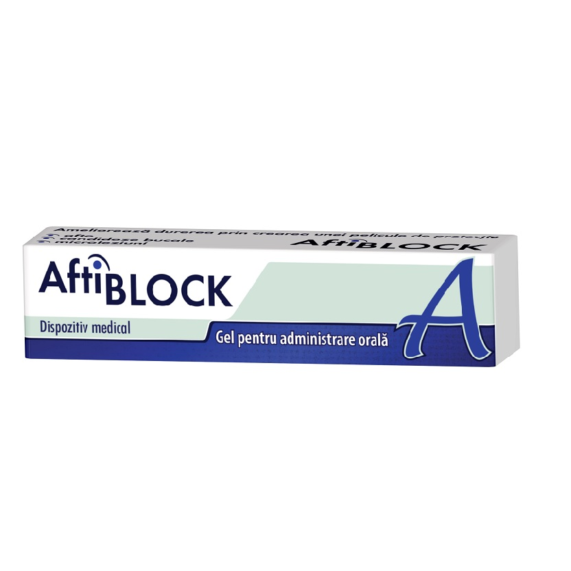 AftiBlock gel, 8 g, Zdrovit drmax.ro