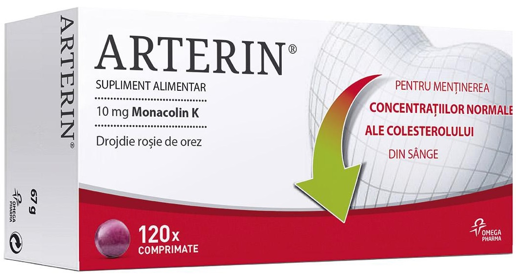 Arterin, 120 comprimate, Omega Pharma