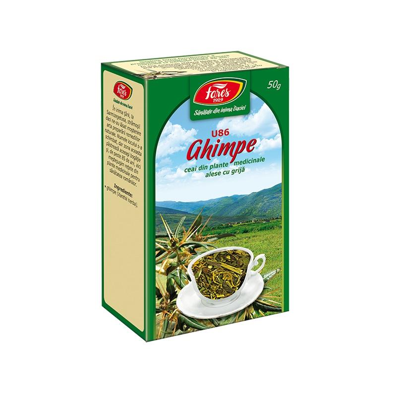 Ceai Ghimpe iarba, 50 g, Fares drmax.ro