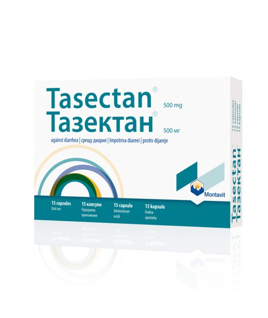 Tasectan 500mg, 15 capsule, Montavit imagine produs 2021