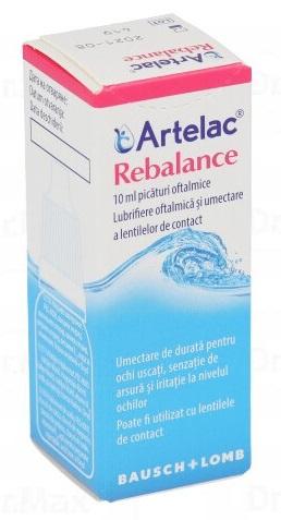 Artelac Rebalance picaturi oftalmice, Bausch&Lomb drmax.ro