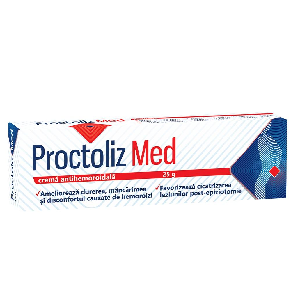 Proctoliz Med crema antihemoroidala, 25 g, Fiterman drmax poza