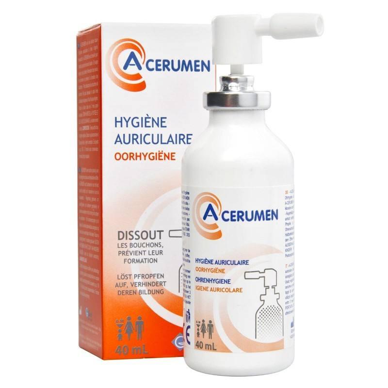 Spray pentru igiena urechilor A-Cerumen, 40 ml, Gilbert imagine produs 2021