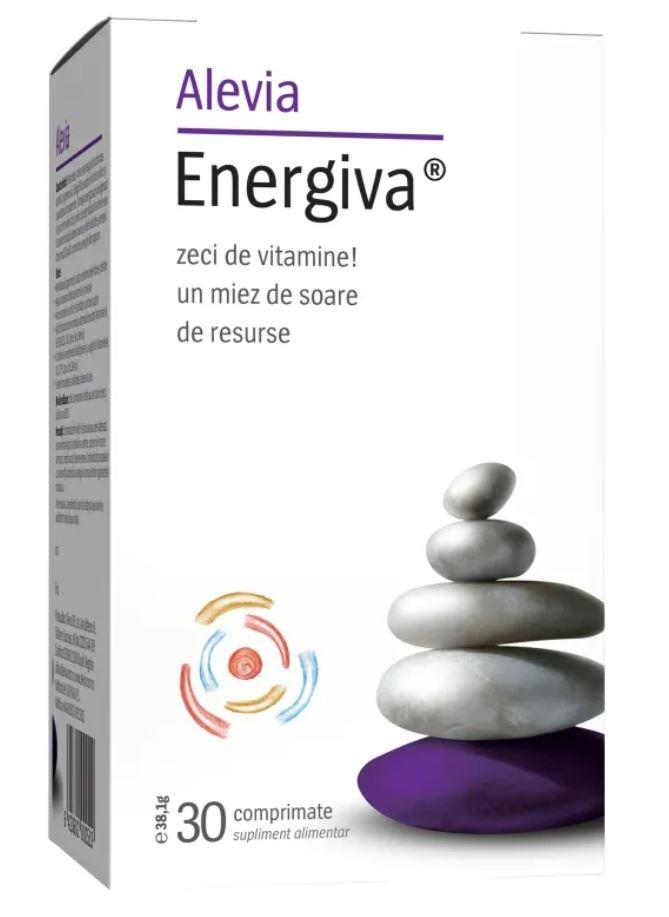 Energiva, 30 comprimate, Alevia drmax.ro
