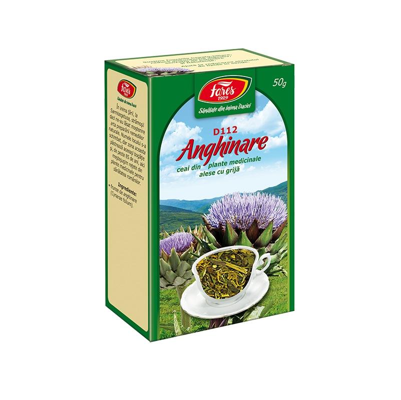 Ceai Anghinare, 50 g, Fares drmax.ro