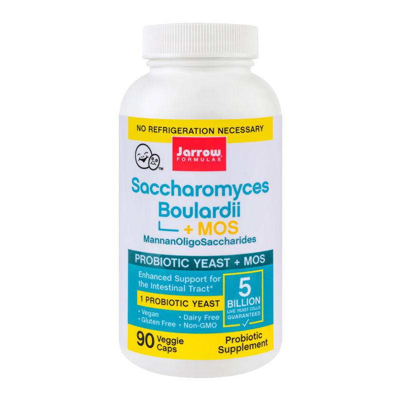 Saccharomyces Boulardii Mos Jarrow Formulas, 90 capsule, Secom imagine produs 2021