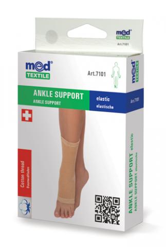 Bandaj elastic pentru glezna M, 1 bucata, MedTextile drmax.ro