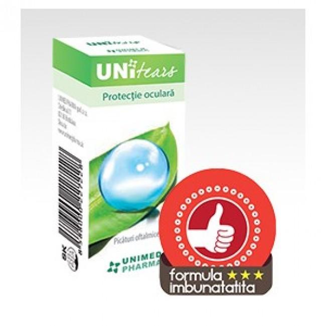 Unitears picaturi oftalmice, 10 ml, Unimed Pharma drmax.ro