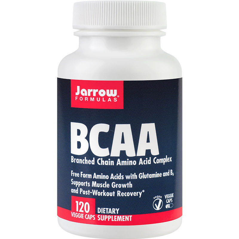 BCAA Branched Chain Amino Acid Complex, 120 capsule, Secom drmax.ro