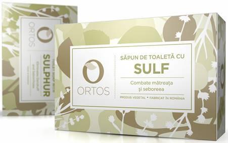 Sapun cu sulf, 100g, Ortos drmax.ro