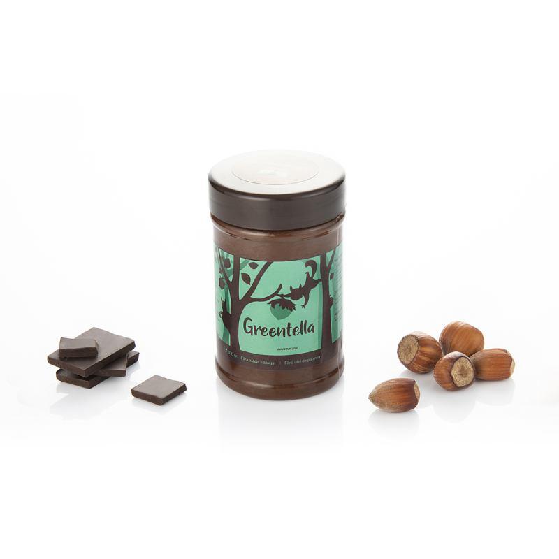 Crema tartinabila cu cacao si alune Greentella, 300g, Sweeteria drmax.ro