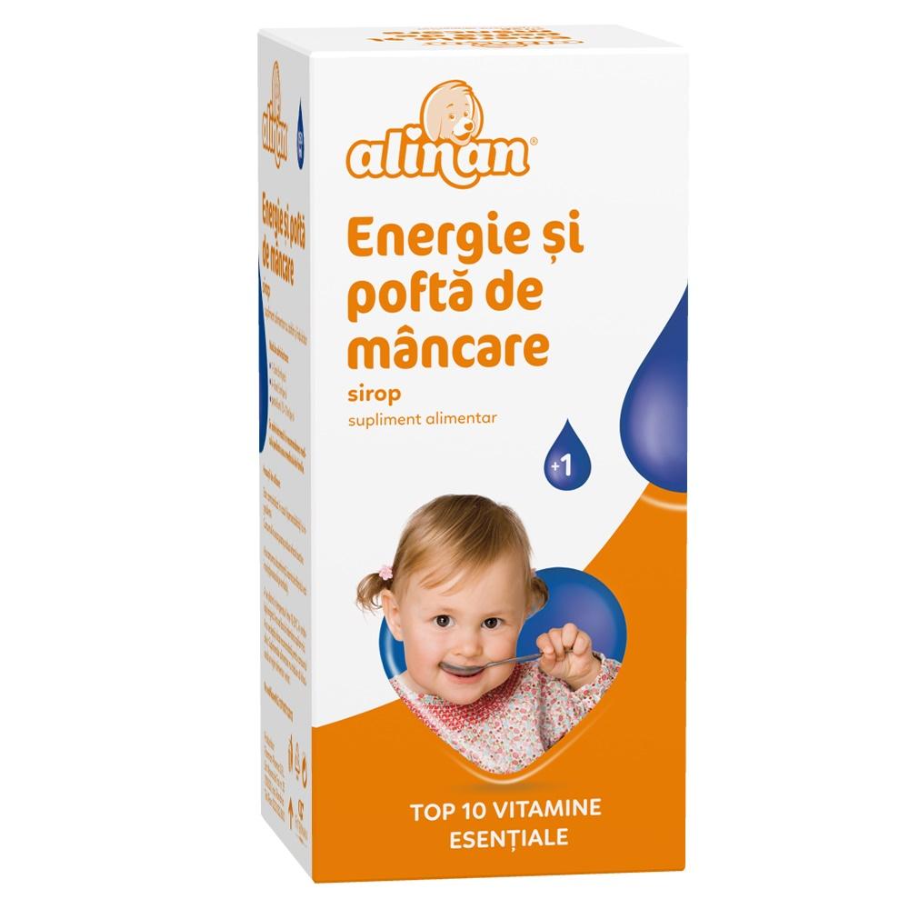 Sirop energie si pofta de mancare Alinan, 150 ml, Fiterman
