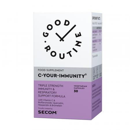 C-Your-Immunity Good Routine, 30 capsule, Secom imagine produs 2021