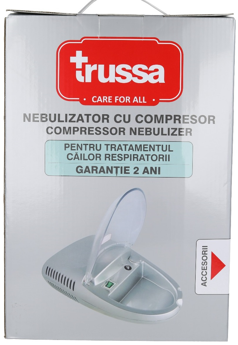 Nebulizator cu compresor, Trussa