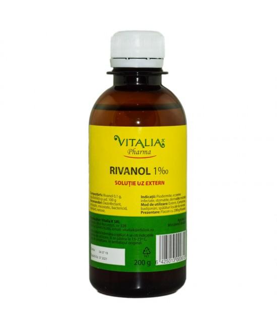Rivanol 0.1%, 100 g, Vitalia