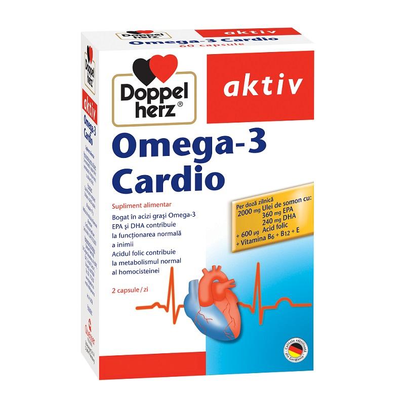Omega-3 Cardio, 60 capsule, Doppelherz imagine produs 2021