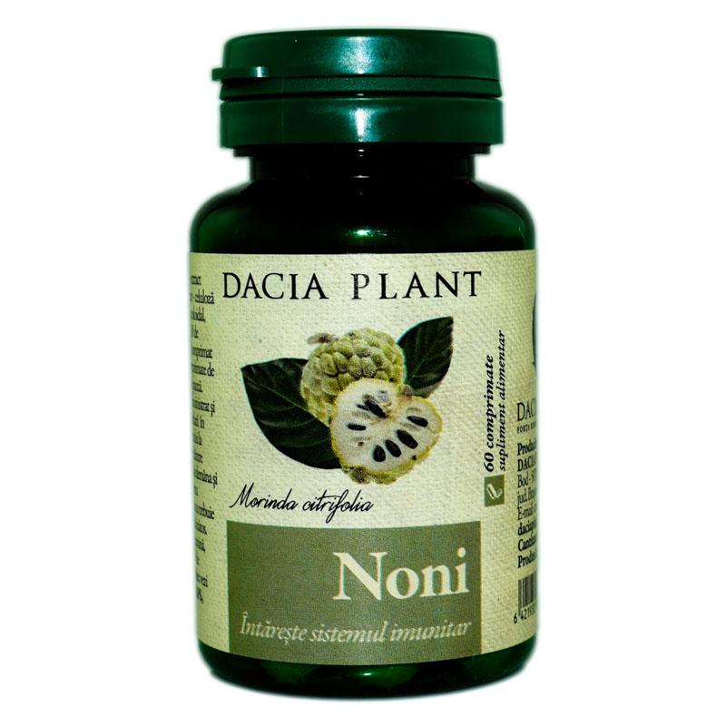 Noni, 60 comprimate, Dacia Plant drmax.ro