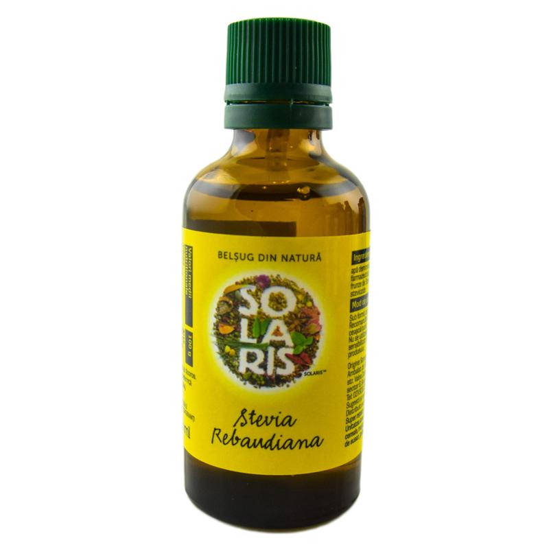 Stevia Rebaudiana, 50ml, Solaris drmax.ro