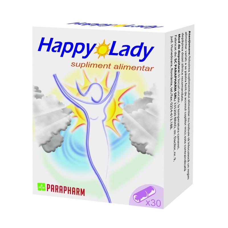Happy Lady, 30 capsule, Parapharm imagine produs 2021