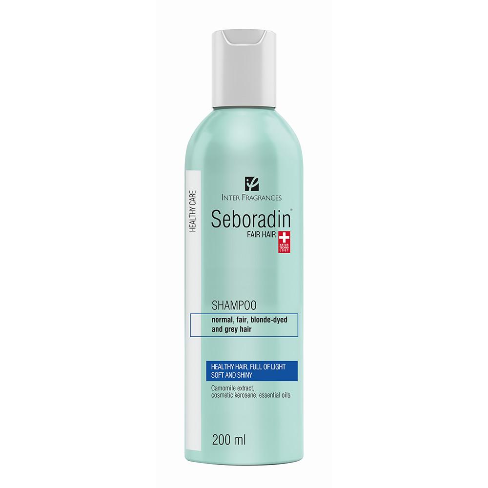 Sampon Fair Hair pentru par deschis la culoare, 200ml, Seboradin imagine produs 2021