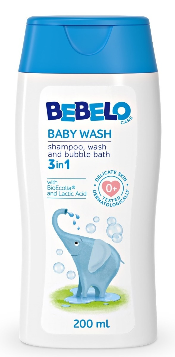 Bebelo Gel spumant 3in1, 200ml