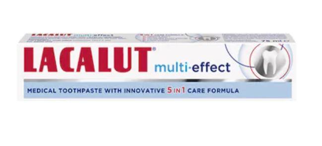 Pasta de dinti Multi-effect, 75ml, Lacalut