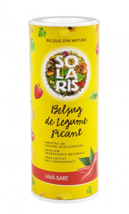 Belsug de legume picant, 125g, Solaris drmax poza