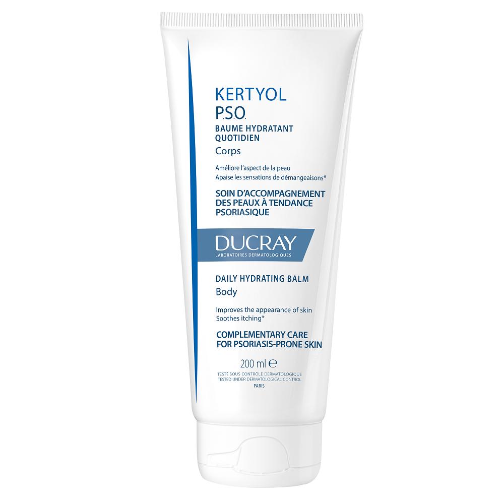 Balsam hidratant pentru piele cu scoame uscate si ingrosate Kertyol PSO, 200ml, Ducray drmax.ro