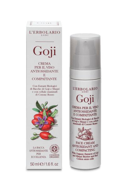 L'Erbolario Crema de fata antioxidanta Goji, 50ml drmax.ro
