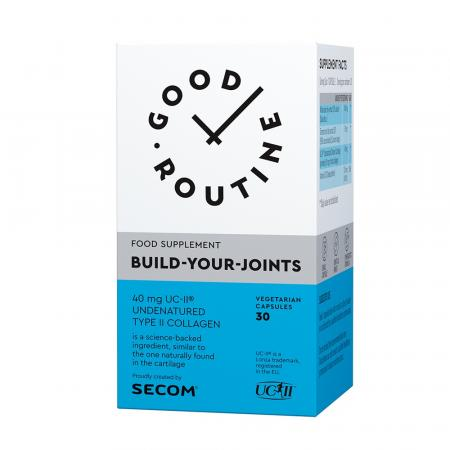Build Your Joints Good Routine, 30 capsule, Secom imagine produs 2021
