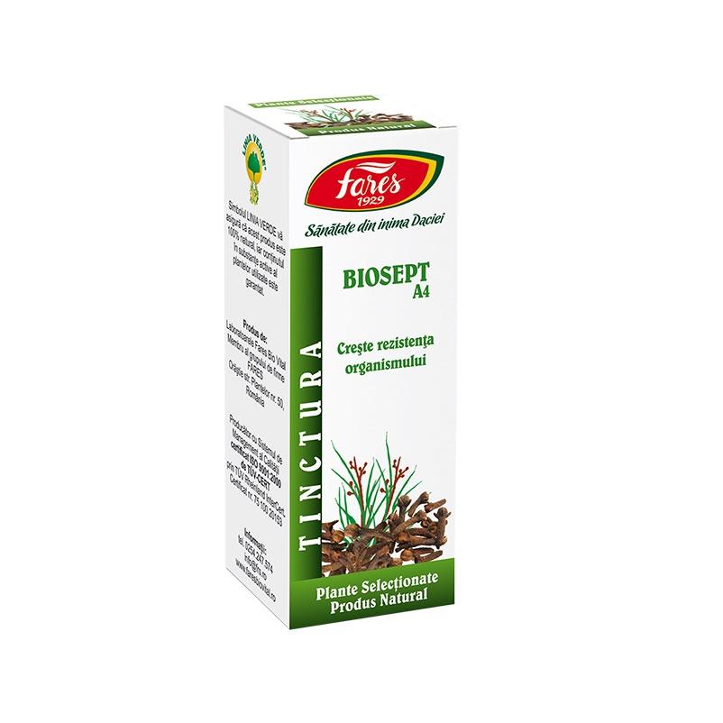 Tinctura Biosept, 30 ml, Fares drmax.ro