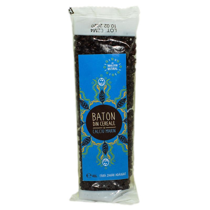 Baton cacao cu calciu si indulcitor natural - stevie si erytrithol, 40g, Sweeteria drmax.ro