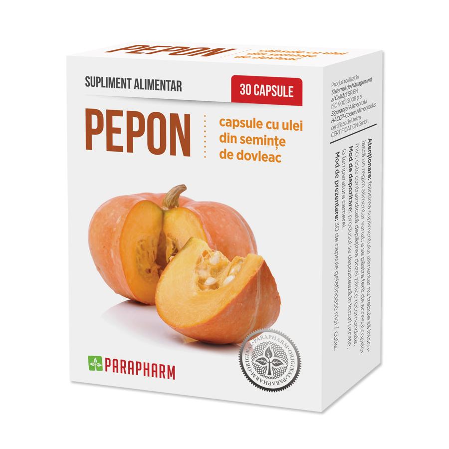 Pepon ulei de Dovleac, 30 capsule, Parapharm imagine produs 2021