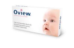 Teste ovulatie Oview, 5 bucati, Blue Cross drmax.ro