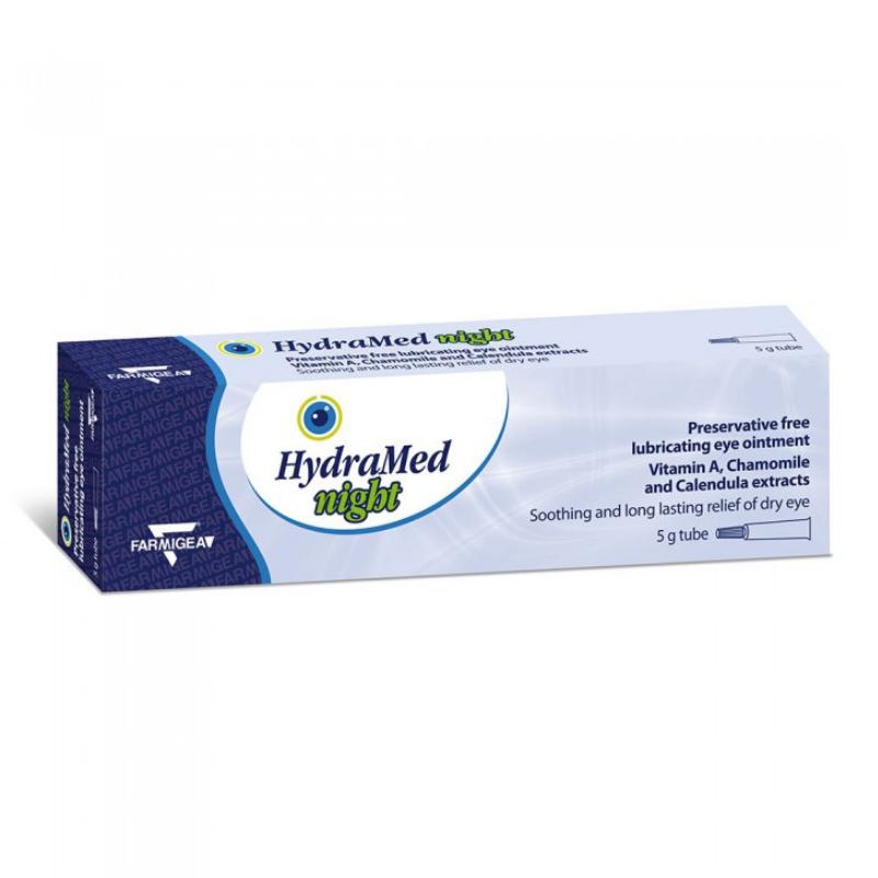 Hydramed Night unguent oftalmic, 5 g, Farmigea drmax.ro