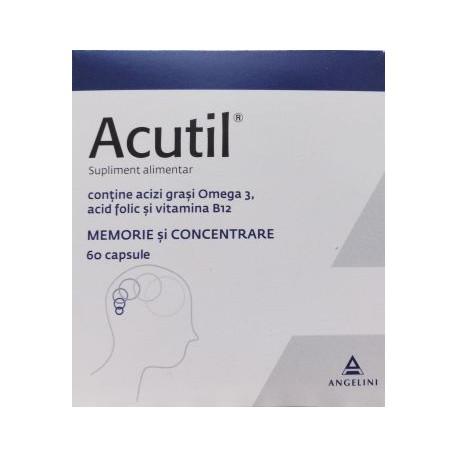 Acutil, 60 capsule, Angelini imagine produs 2021