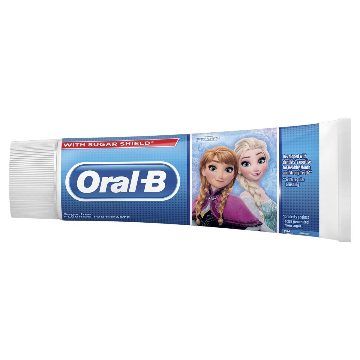 Pasta de dinti Stages Frozen: 3-5ani, 75ml, Oral-B drmax.ro