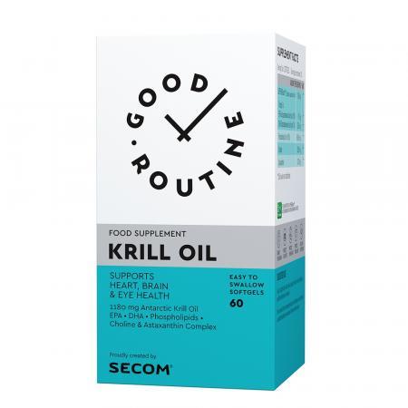 Krill Oil Good Routine, 60 capsule, Secom imagine produs 2021