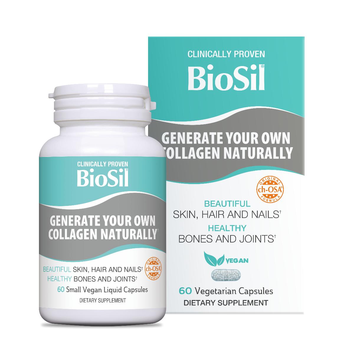 BioSil, 60 capsule, Bio Minerals